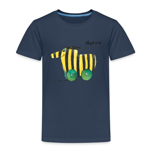 Janosch Tigerente Love you - Kinder Premium T-Shirt
