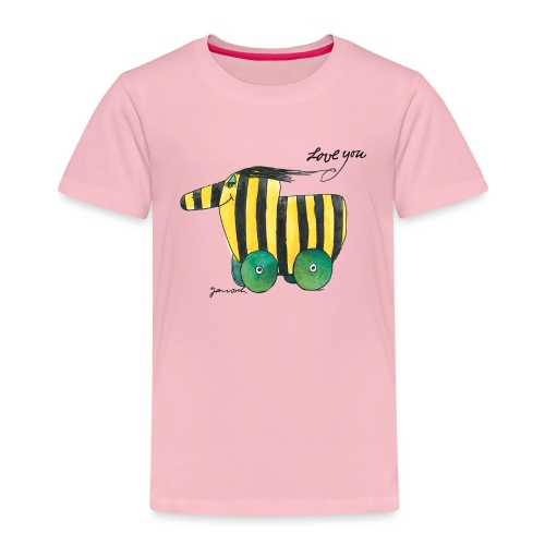Janosch Tigerente Love you - Kinder Premium T-Shirt