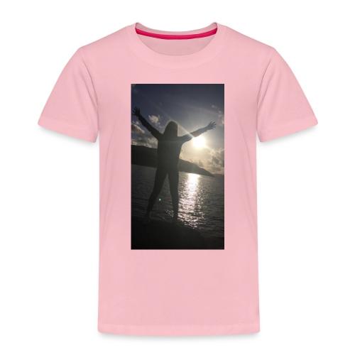 Solnedgangen - Premium T-skjorte for barn
