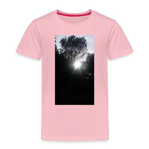 Alberi al tramonto - Maglietta Premium per bambini