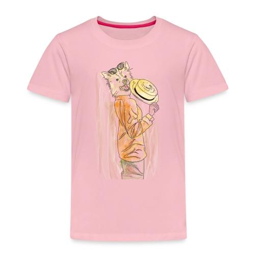 Lady Collie Color madame Mrs - Maglietta Premium per bambini