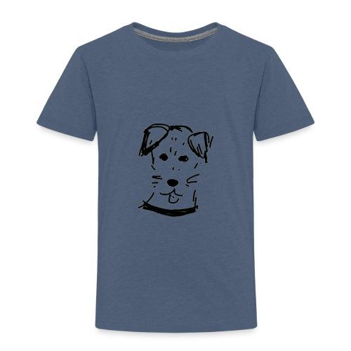 piesek a jpg - Koszulka dziecięca Premium