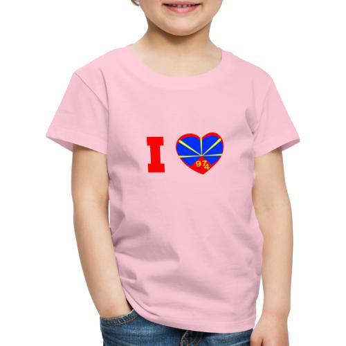 I love 974 - Lo Mahaveli - T-shirt Premium Enfant