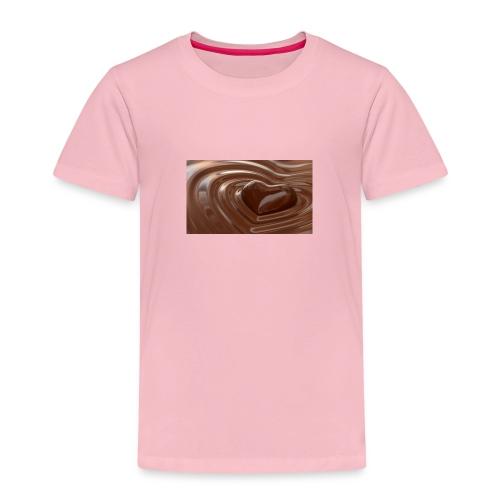 Choklad T-shirt - Premium-T-shirt barn