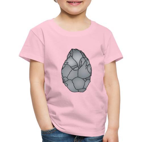 Faustkeil Steinzeit c - Kinder Premium T-Shirt