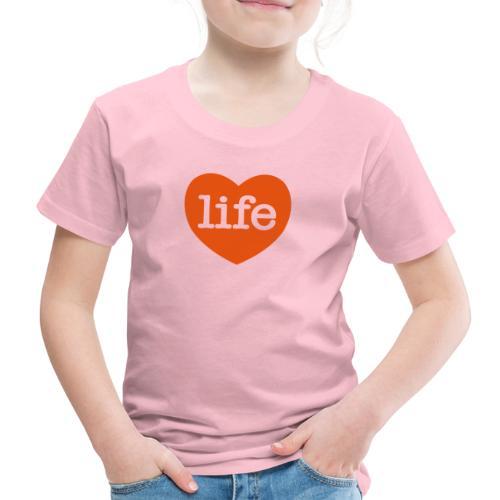 LOVE LIFE heart - Kids' Premium T-Shirt