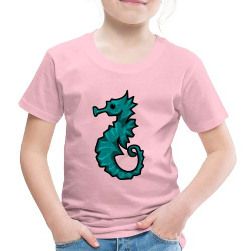 Cabalito de Mar kawaii - Camiseta premium niño