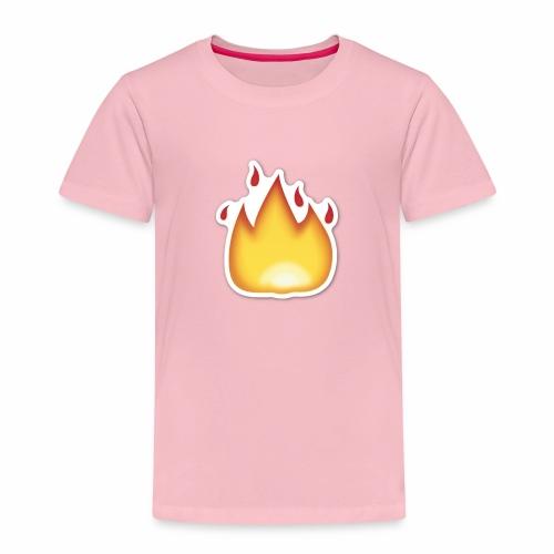 Liekkikuviollinen vaate - Lasten premium t-paita