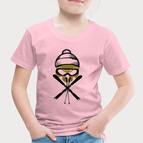 ski_skull - Kinder Premium T-Shirt