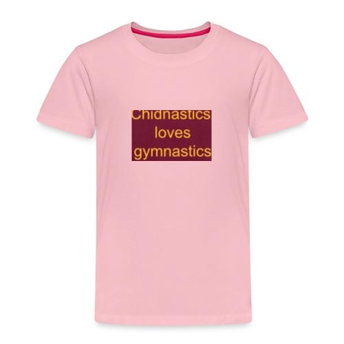 chidnastics loves gymnastics😊😊😊😊😊😊😊😊😊😊😊 - Kids' Premium T-Shirt