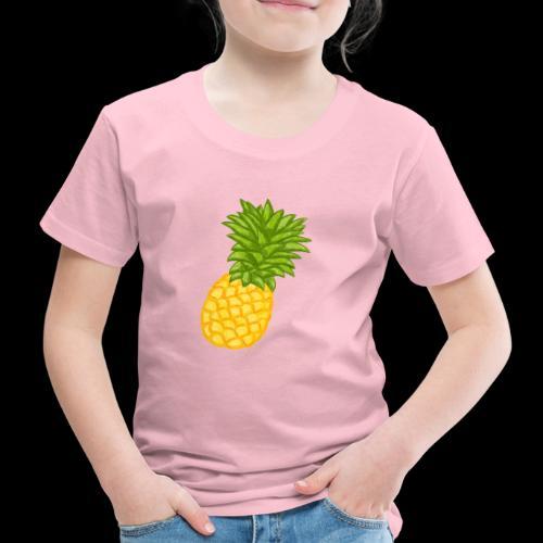 Ananas - Zeichnung - Kinder Premium T-Shirt