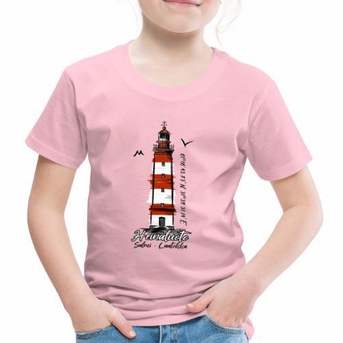 Old Finnish Lighthouse HEINÄLUOTO Textiles, Gifts - Lasten premium t-paita