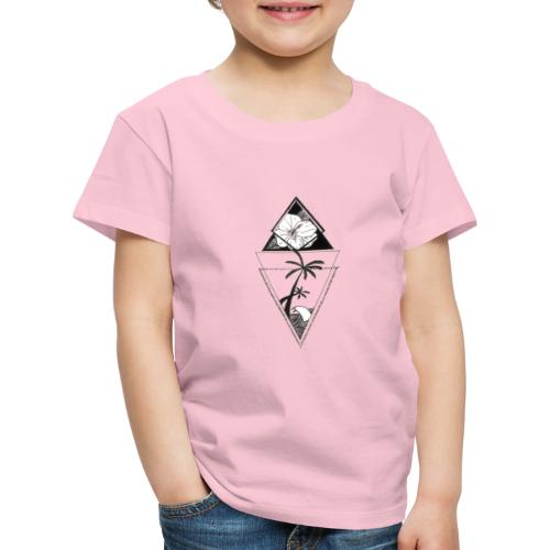 Palm Paradise - Børne premium T-shirt