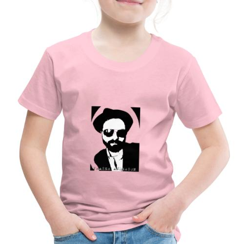 B W Pop art design trans - Kids' Premium T-Shirt