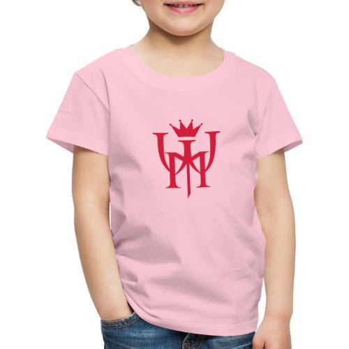 Logo MW Czerwone - Koszulka dziecięca Premium