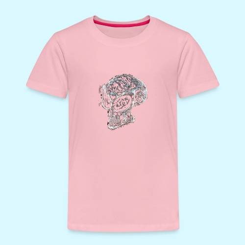 smokey Skull - Kids' Premium T-Shirt