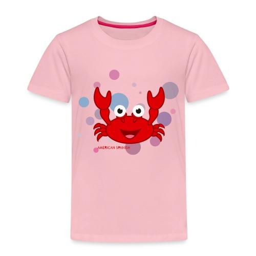 American spanish cangrejo - Camiseta premium niño