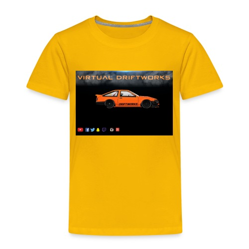virtual driftworks preview - Kids' Premium T-Shirt