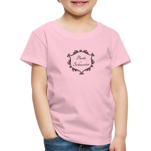 Beste Schwester - Kinder Premium T-Shirt