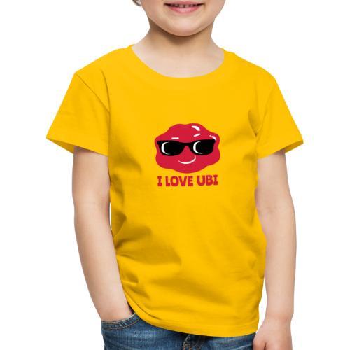 I LOVE UBI - Kids' Premium T-Shirt