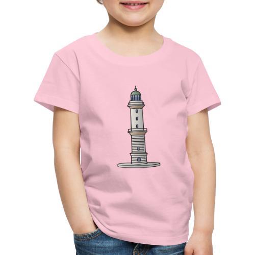Leuchtturm Warnemünde Rostock c - Kinder Premium T-Shirt