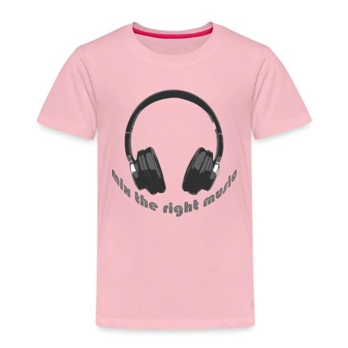 DJ Mix the right music, headphone - Kinderen Premium T-shirt