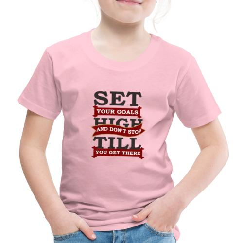 Zielerreichung, Goals - Kinder Premium T-Shirt