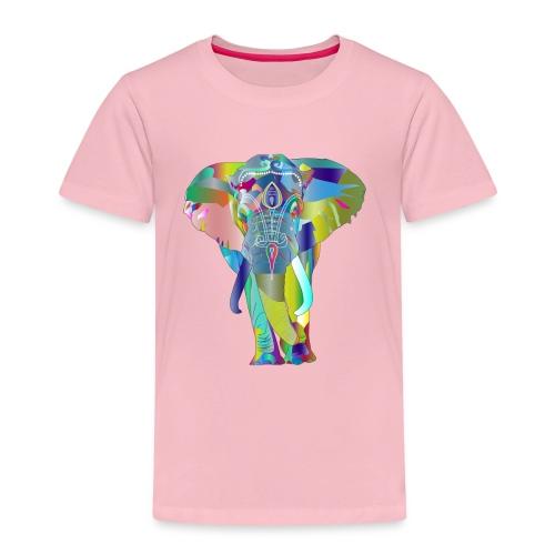 elephant psychedelique - T-shirt Premium Enfant