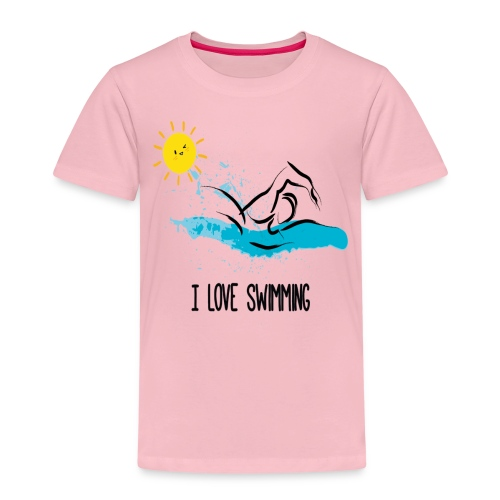 love swimming tchirt - T-shirt Premium Enfant