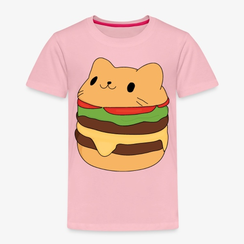 cat burger - Kids' Premium T-Shirt