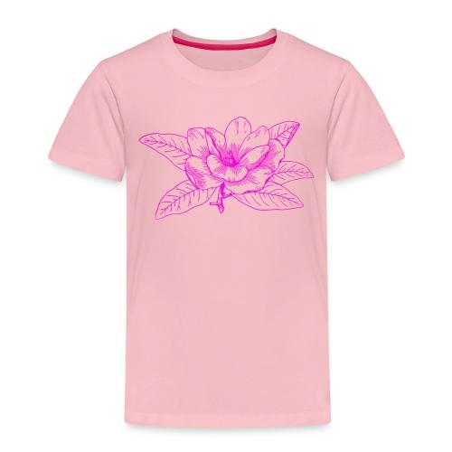 Camisetas y accesorios de flor color rosada - Camiseta premium niño