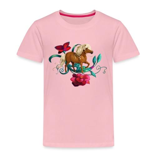 Kamelien Pony - Kinder Premium T-Shirt