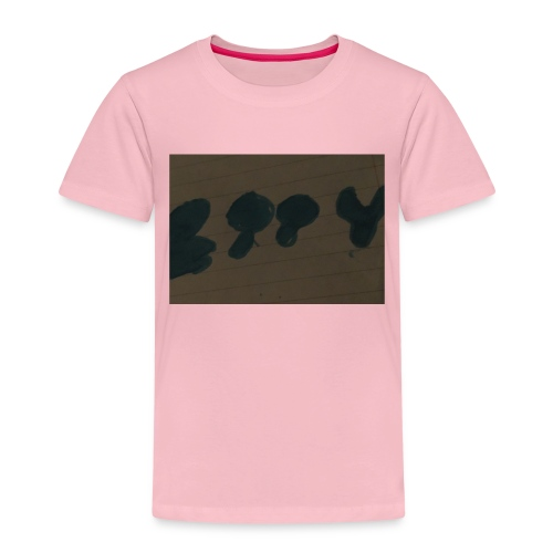 Etty Blue writing merch - Kids' Premium T-Shirt