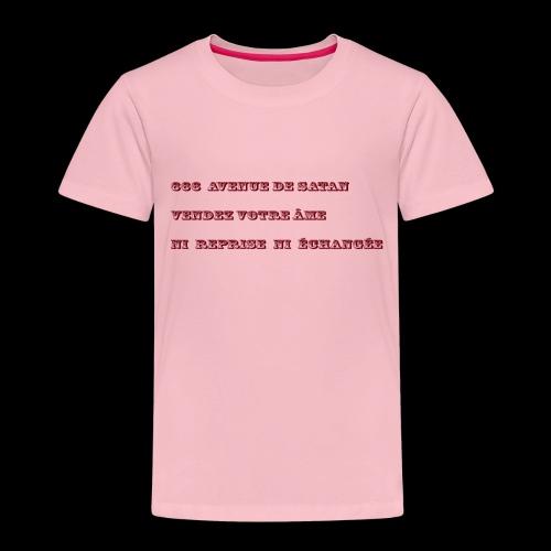 666 - T-shirt Premium Enfant
