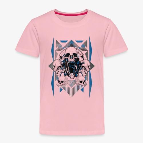 T-shirt de crâne Jual Kaos Hipster - T-shirt Premium Enfant