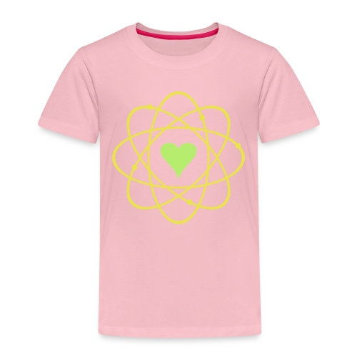 yellowibis atomicheart vec - Kids' Premium T-Shirt