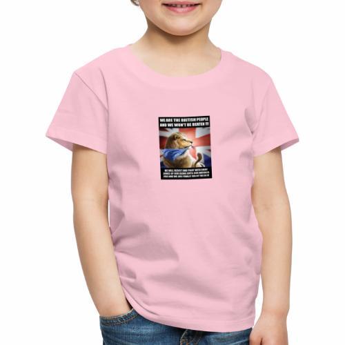 we are british people - Kids' Premium T-Shirt