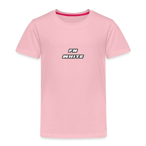 FNWhite SpreadShirt - Kids' Premium T-Shirt
