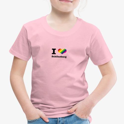 I love Schöneberg - Kinder Premium T-Shirt