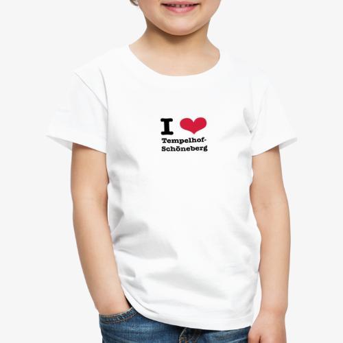 I love Tempelhof-Schöneberg - Kinder Premium T-Shirt