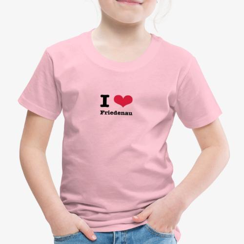 I love Friedenau - Kinder Premium T-Shirt