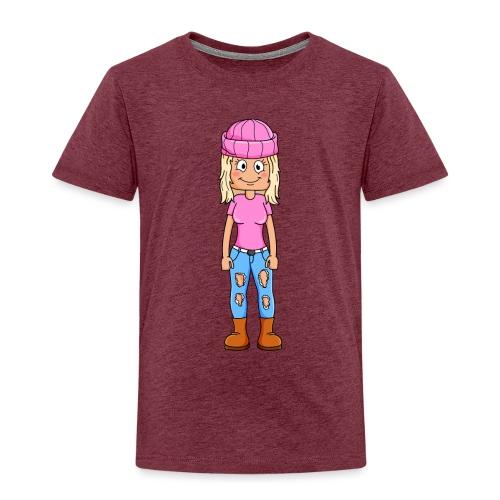 Yumi gaming tryck - Premium-T-shirt barn