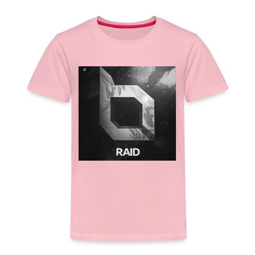 Raid Away - Black Shirt - Kids' Premium T-Shirt