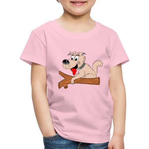 t shirt amusant chien drole humour - T-shirt Premium Enfant