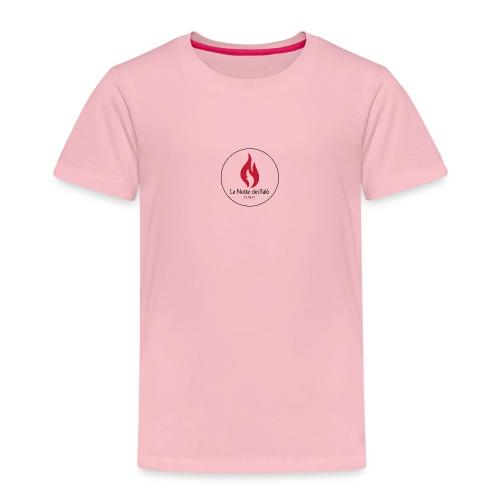 Logo Notte dei falo 2 - Maglietta Premium per bambini