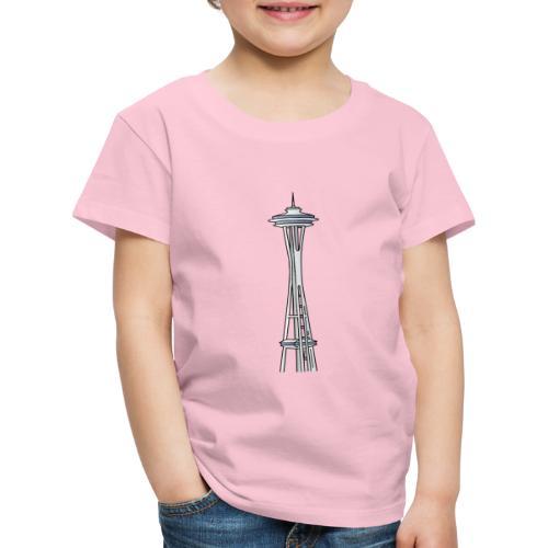 Space Needle a Seattle - Maglietta Premium per bambini