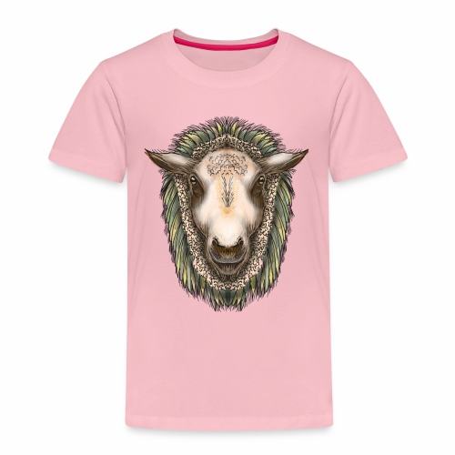 Zed The Sheep by Jon Ball - Kids' Premium T-Shirt
