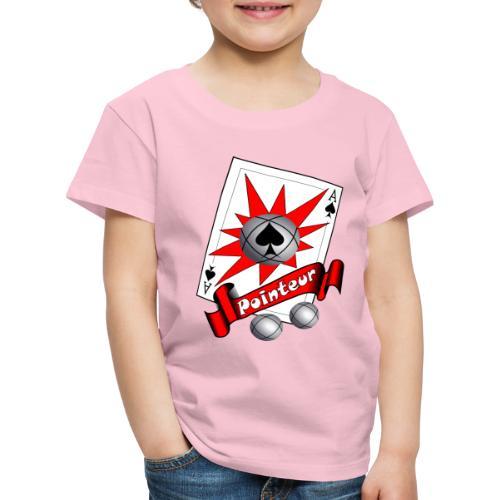t shirt petanque as des pointeurs boules - T-shirt Premium Enfant
