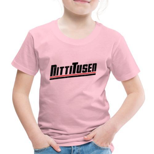Nittitusen print svart - Premium-T-shirt barn