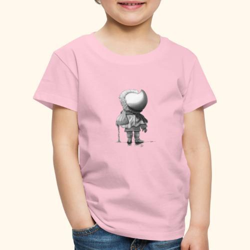 Unser Sandmännchen von hinten - schwarz - Kinder Premium T-Shirt